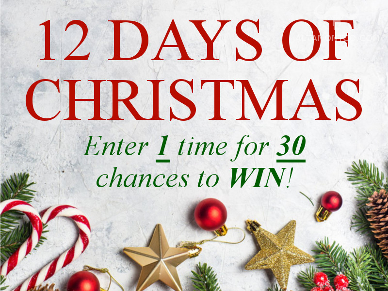 Altamont 12 Days of Christmas Sweepstakes