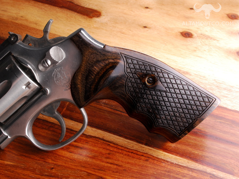 Smith & Wesson K/L Frame Square Butt Revolver Grips
