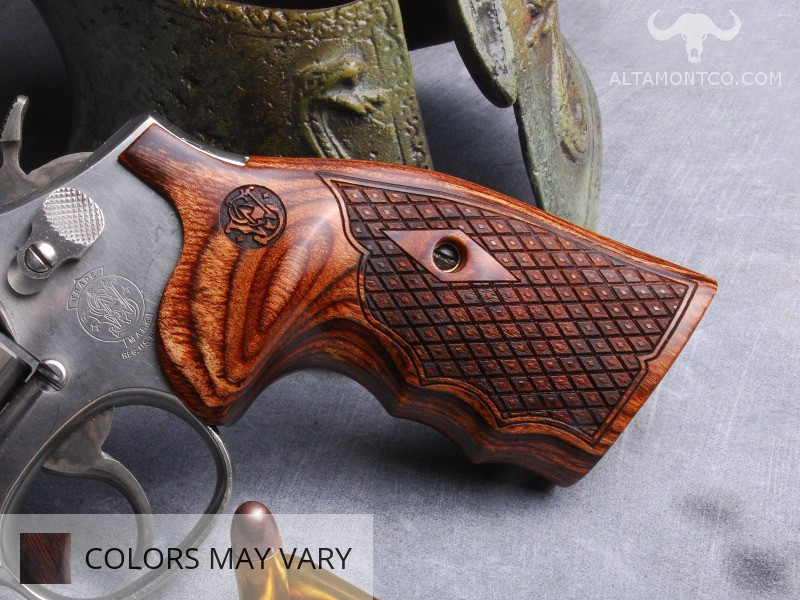 Smith & Wesson N Frame Square Butt Revolver Grips   Altamont Company