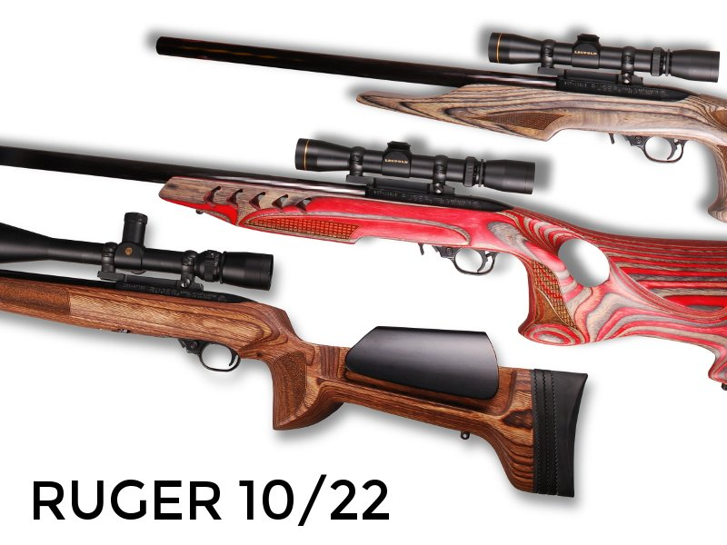 Altamont Ruger 10-22 Rifle Stocks