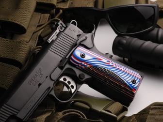 1911 Govt. Tactical Panel Foundation Red, White, & Blue G10
