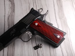 1911 Govt. SLIMTECH Super Rosewood Checkered