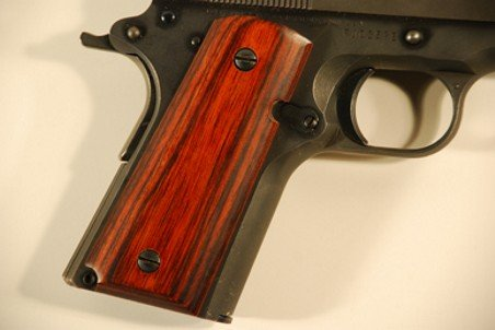 Colt 1911 Officer Classic Panel, Super Rosewood