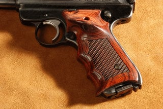 Ruger Mark II Ultima Target Super Rosewood Checkered