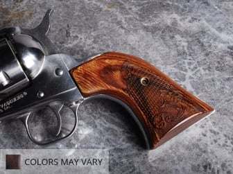 Ruger Blackhawk Classic Panel Super Walnut Checkered Engraved