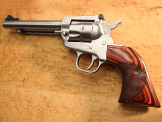 Ruger Blackhawk Slim Panel Super Rosewood Half Moon Checkered