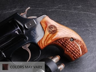 S&W J Round Combat Char Ruby Engraved