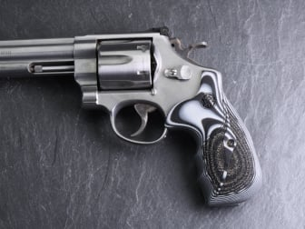 Smith & Wesson K/L Frame Round Butt Revolver Grips
