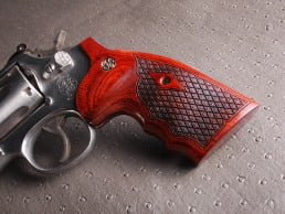 S&W K Square BATELEUR® Super Rosewood Spanish Diamond with Silver Medallions