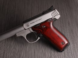 S&W 22 Victory Classic Panel Super Rosewood