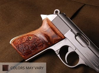 Walther PPK/S (S&W Version Only) Ultima Panel Super Walnut Oak Tree