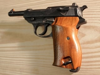 Walther P-38 Classic Panel American Walnut